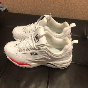 Fila White Woman Shoes